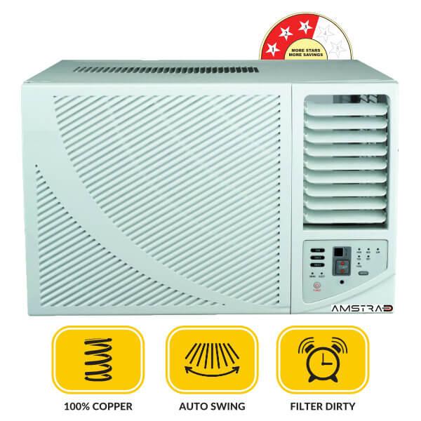 1-Ton-Fixed-Speed-Window-AC-AMW133M