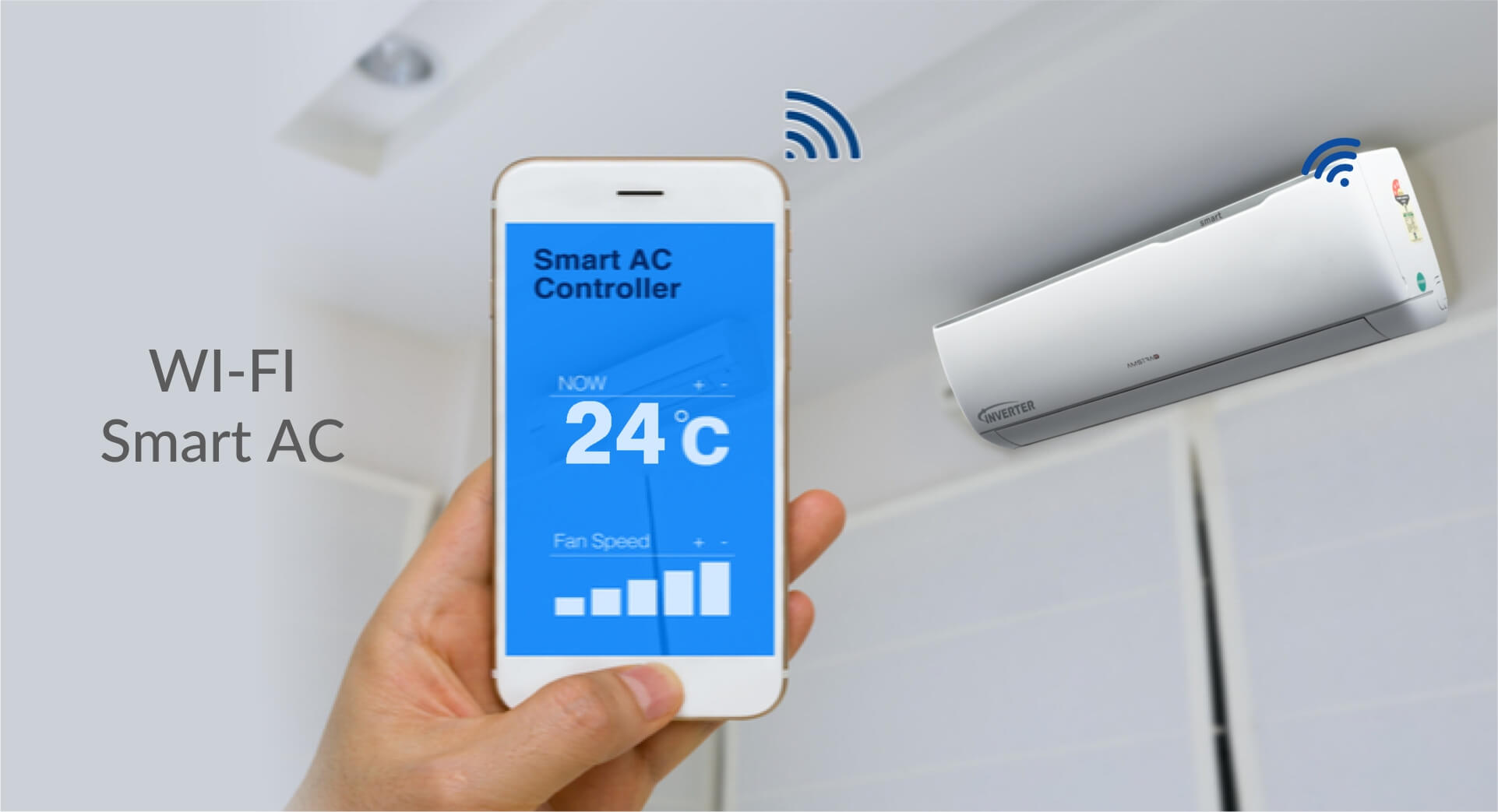 Amstrad Wi-Fi Connected Smart AC