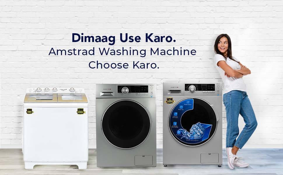Amstrad Washing Machine Range