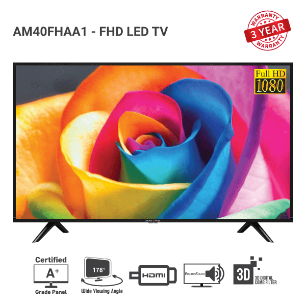 Amstrad Full HD LED TV AM40FHAA1
