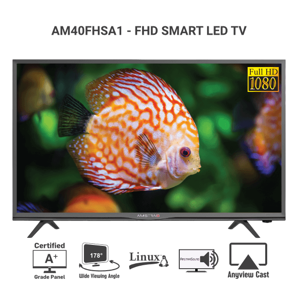 Amstrad-AM40FHSA1-SMART-LED-TV