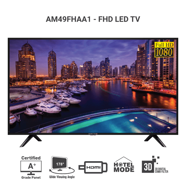Amstrad Full HD LED TV