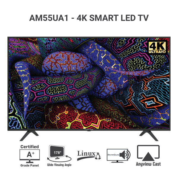 Amstrad-AM55UA1-Smart-LED-4K-UHD-TV