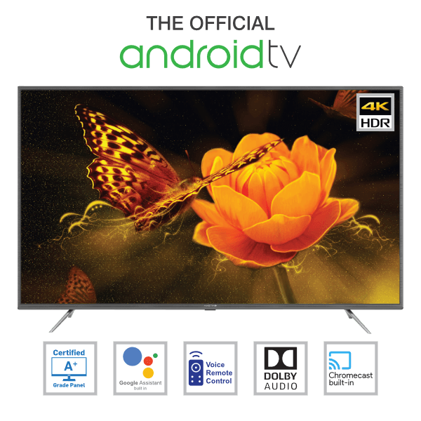 Amstrad Official Android 4K UHD LED TV
