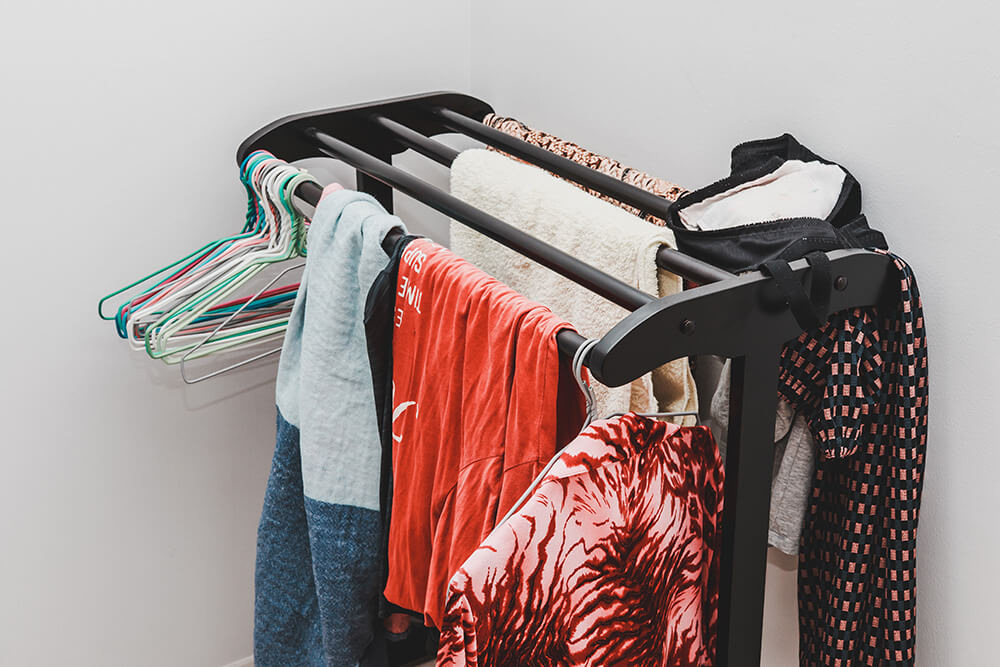 Drying clothes at home causes allergy