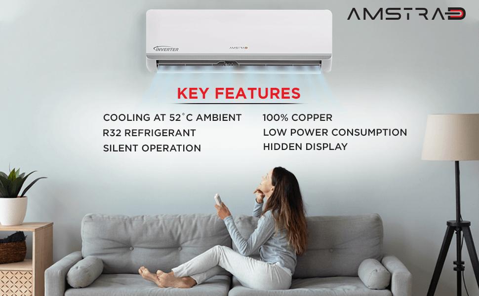 amstrad 3 star inverter air conditioner ac