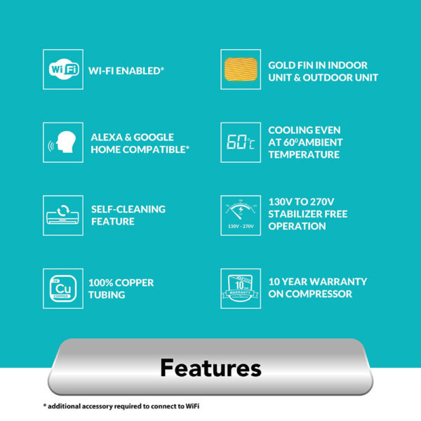 amstrad 3 star smart wifi ac air-conditioner